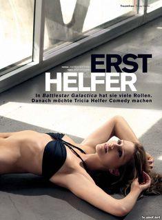 Триша Хелфер в нижнем белье для журнала FHM фото #2