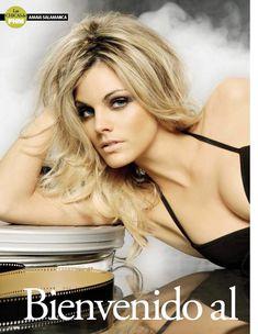 Сексуальная Амайя Саламанка снялась в эротическом наряде в журнале FHM фото #2