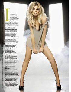 Сексуальная Амайя Саламанка снялась в эротическом наряде в журнале FHM фото #5
