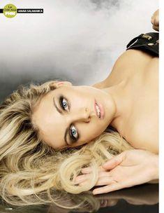 Сексуальная Амайя Саламанка снялась в эротическом наряде в журнале FHM фото #6