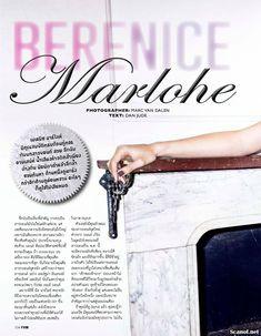 Беренис Марло засветила соски в журнале FHM фото #1