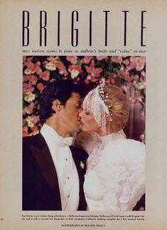 Сексуальная Бриджит Нильсен красиво оголилась в журнале Playboy фото #1