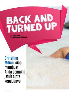 Аппетитная красотка Кристина Милиан позирует в купальнике для FHM фото #2