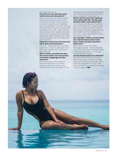 Аппетитная красотка Кристина Милиан позирует в купальнике для FHM фото #9