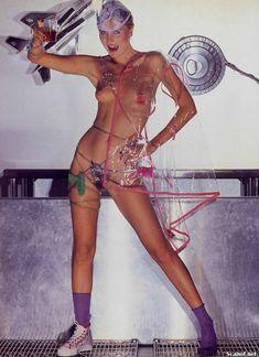 Обнаженная Дениз Кросби в журнале Playboy фото #1