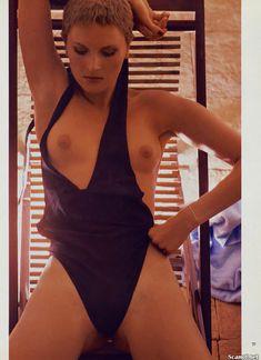 Обнаженная Дениз Кросби в журнале Playboy фото #3