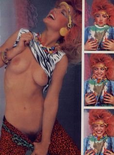 Обнаженная Хоуп Мари Карлтон  в журнале Playboy фото #4