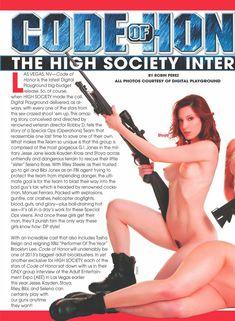 Фото с Джесси Джейн в журнале High Society фото #2