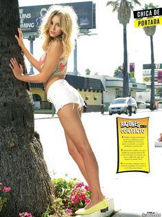 Заманчивая Кили Хэзелл сексуально позирует в журнале FHM фото #4