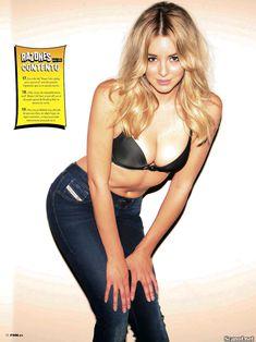 Заманчивая Кили Хэзелл сексуально позирует в журнале FHM фото #9