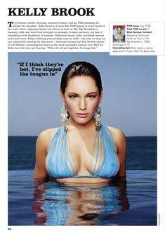 Секси Келли Брук для журнала FHM фото #1