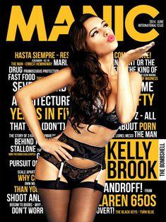Келли Брук в сексуальном белье для журнала Manic фото #1