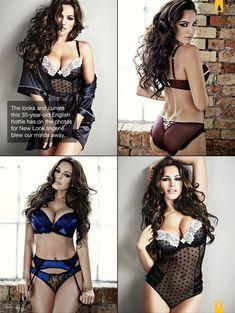 Келли Брук в сексуальном белье для журнала Manic фото #3