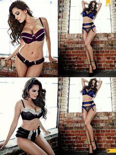 Келли Брук в сексуальном белье для журнала Manic фото #4