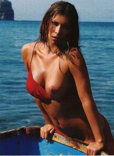 Кристин Леман разделась в журнале Playboy фото #6