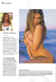 Кристин Леман разделась в журнале Playboy фото #13