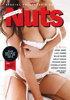 Люси Пиндер оголила сиськи  в журнале Nuts фото #1