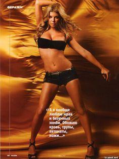 Эротичная Ферги  в журнале Maxim фото #6