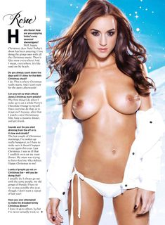 Голая грудь Рози Джонс в журнале Nuts фото #1