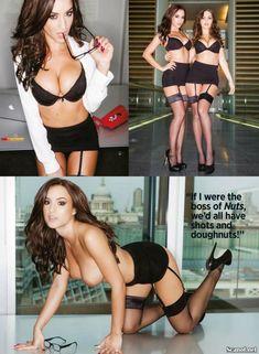 Обнаженная Рози Джонс в журнале Nuts фото #2