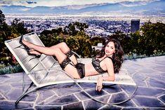 Горячая Меган Фокс в нижнем белье для Frederick's of Hollywood фото #11