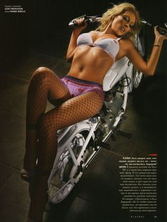 Аврора в эро фотосессии для Playboy фото #2