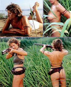 Алика Смехова показала сиськи в журнале Playboy фото #7