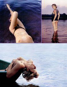 Алика Смехова показала сиськи в журнале Playboy фото #8