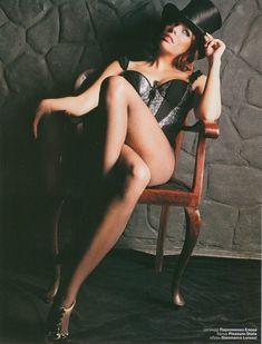 Анастасия Стоцкая в сексуально белье для EGO фото #6