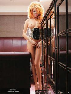 Обнаженная Анастасия Стоцкая в журнале Playboy фото #5
