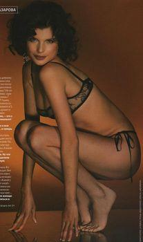 Анна Азарова в белье для журнала FHM фото #2