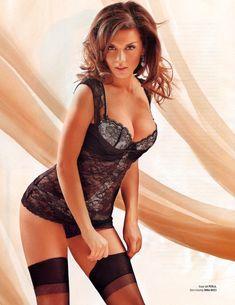 Анна Седокова в нижнем белье для журнала Playboy фото #2