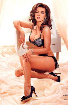Анна Седокова в нижнем белье для журнала Playboy фото #6