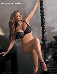 Анна Семенович обнажилась в журнале Playboy фото #2