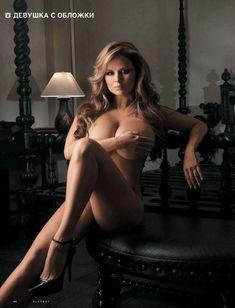 Анна Семенович обнажилась в журнале Playboy фото #5