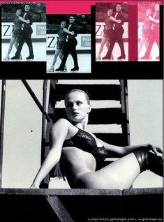 Анна Семенович без лифчика в журнале «Спoрт-клуб» фото #3