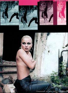 Анна Семенович без лифчика в журнале «Спoрт-клуб» фото #4