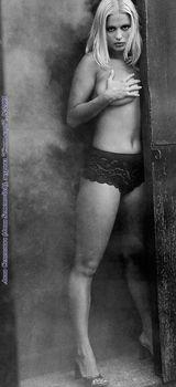 Анна Семенович без лифчика в журнале «Спoрт-клуб» фото #7