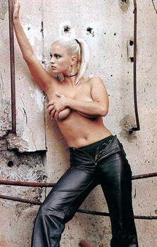 Анна Семенович без лифчика в журнале «Спoрт-клуб» фото #8