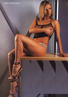 Аппетитное тело Анны Семенович в журнале FHM фото #9