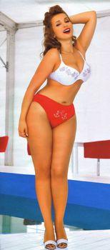 Сочное тело Анфисы Чеховой в купальнике для «7 Дней» фото #3