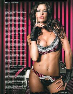 Арина Махова в эротическом белье журнале XXL фото #2