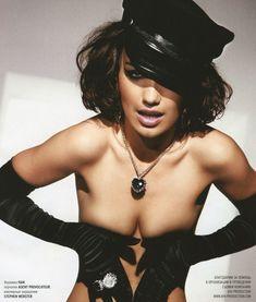 Виктория Дайнеко в эротическом белье для Playboy фото #1