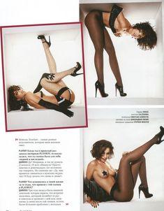 Виктория Дайнеко в эротическом белье для Playboy фото #6