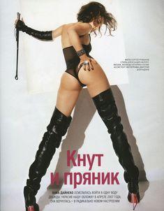 Виктория Дайнеко в эротическом белье для Playboy фото #8