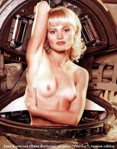 Голые сиськи Даны Борисовой в журнале Playboy фото #4