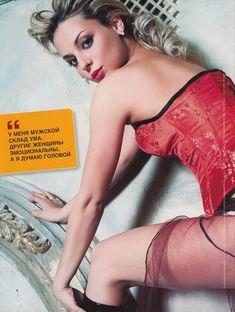 Секси Дарья Сагалова в белье для журнала SIM фото #2