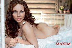Обнаженная Екатерина Гусева в журнале Maxim фото #6
