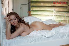 Обнаженная Екатерина Гусева в журнале Maxim фото #7