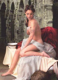 Елена Захарова разделась в журнале «Караван историй» фото #1